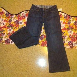 PAIGE Midrise Wide Leg Jeans, 30P